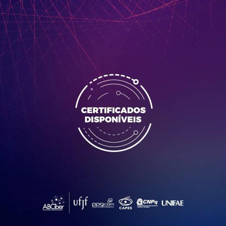 Certificados disponíveis